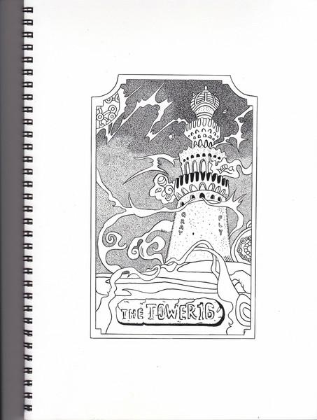 16.ジョジョの奇妙なタロット  ―  塔( The Tower )―