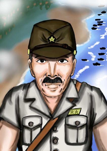 第32軍司令官牛島満中将
