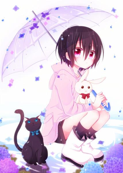 雨のち花降り
