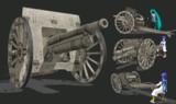 【MMDモデル配布】 M1902_76mm野砲