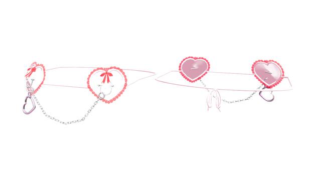[MMD]紐とセットのランジェリーを配布【アクセサリー配布】【紳士向け】