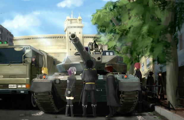 日本帝鬼軍仕様10式戦車