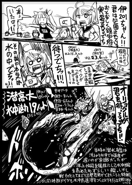 【艦これ】水中最高速【潜水艦】