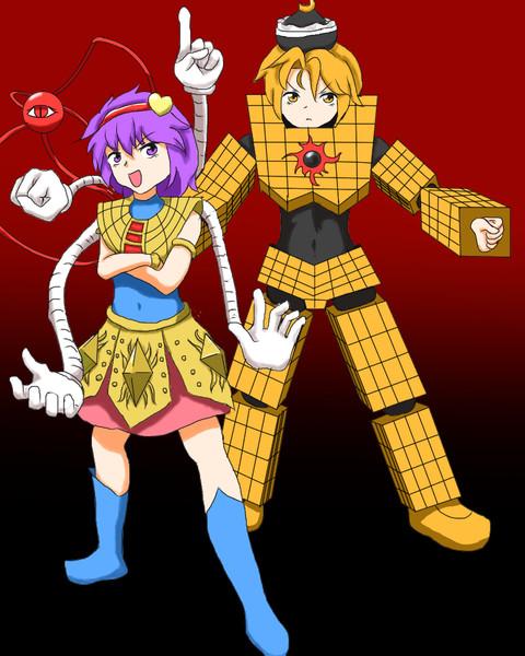 悪魔六騎士コスさとり&ルナサ