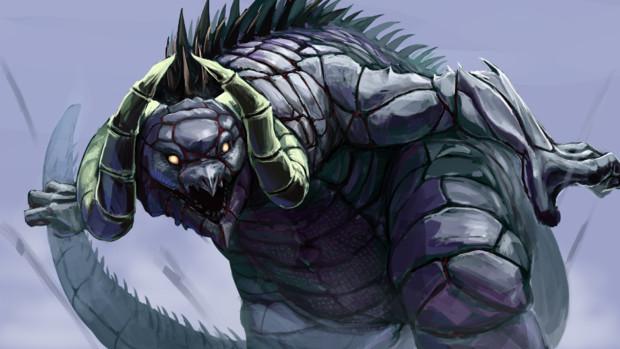 剛力怪獣シルバゴン