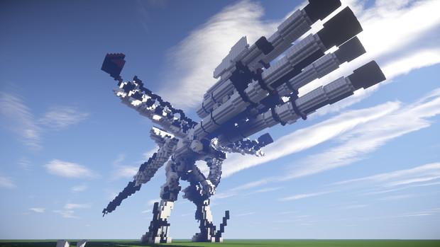 [Minecraft]       ホワイトグリント(ACfa)