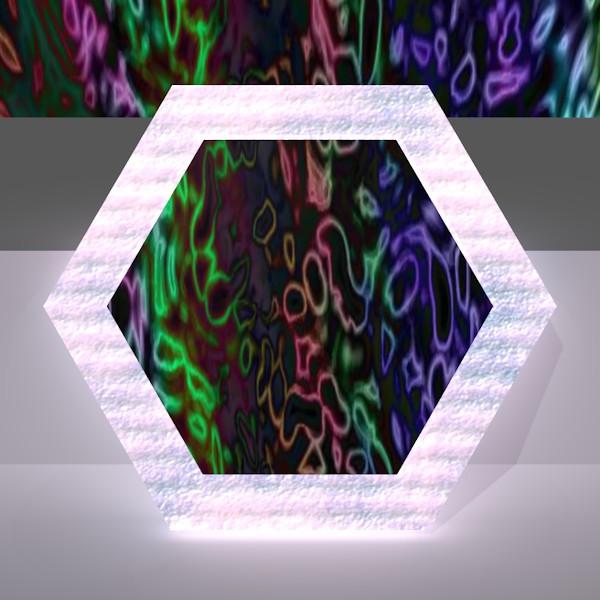 六角形の鏡7