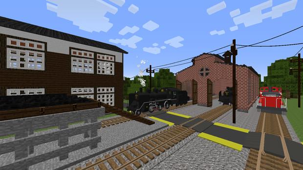 [minecraft]とある支線の車庫