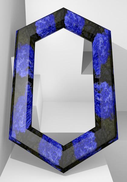 六角形の鏡9