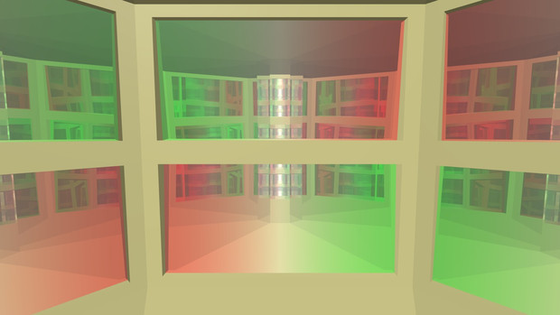 無限鏡の部屋34