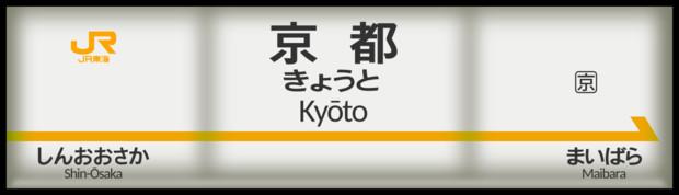 東海道新幹線 京都