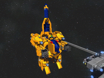 [Space Engineers] メタス