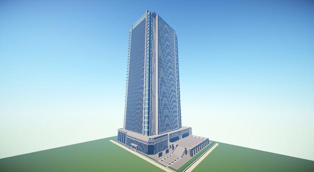 Minecraft】超高層ビル / ちーさ...