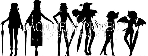 Race Queen Project - EoSD Pack - (ティーザー)