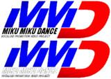 グランツーリスモみたいな「MikuMikuDance」のロゴ
