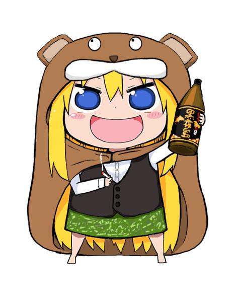 干物妹と化したきこりん(酒)