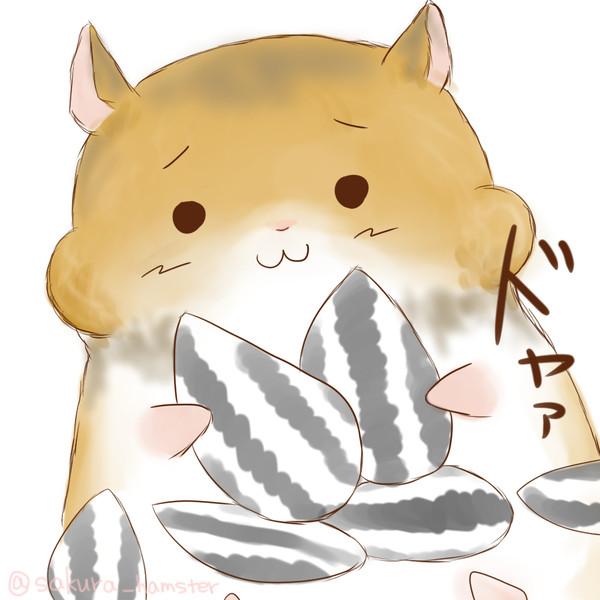 【フリーアイコン】ドヤァハムスター