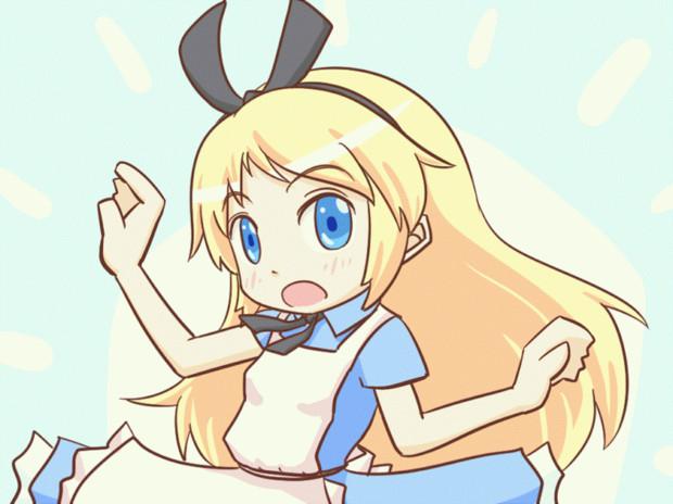 【GIFアニメ】フジキド国のアリス