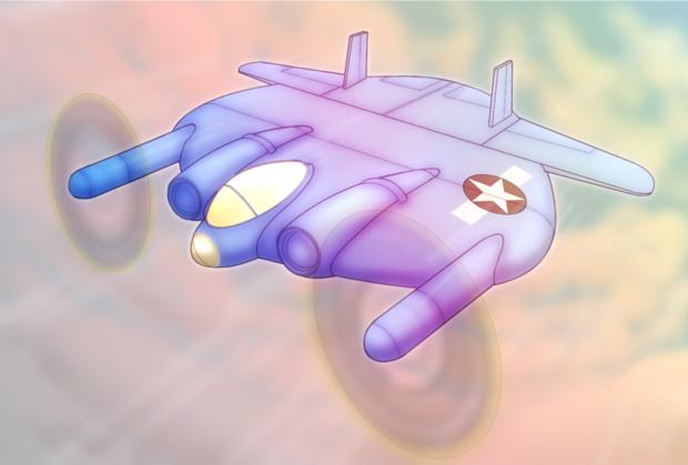 艦隊これくしょんと兵器コラボ用イラスト「フライングパンケーキ」