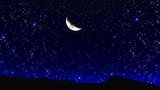 【MMD】スカイドーム星空もどき Ver.3で暗い夜