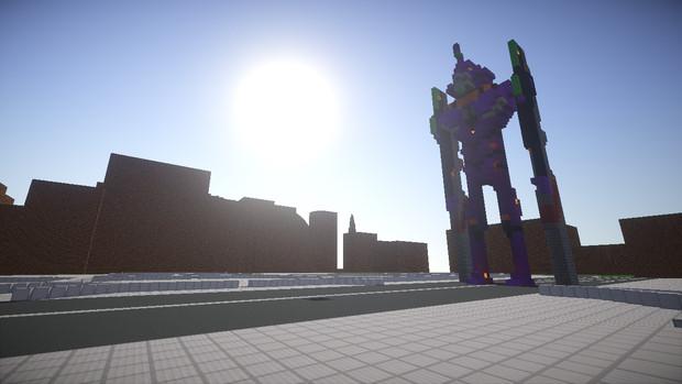 Minecraft建築部】第三新東京市...