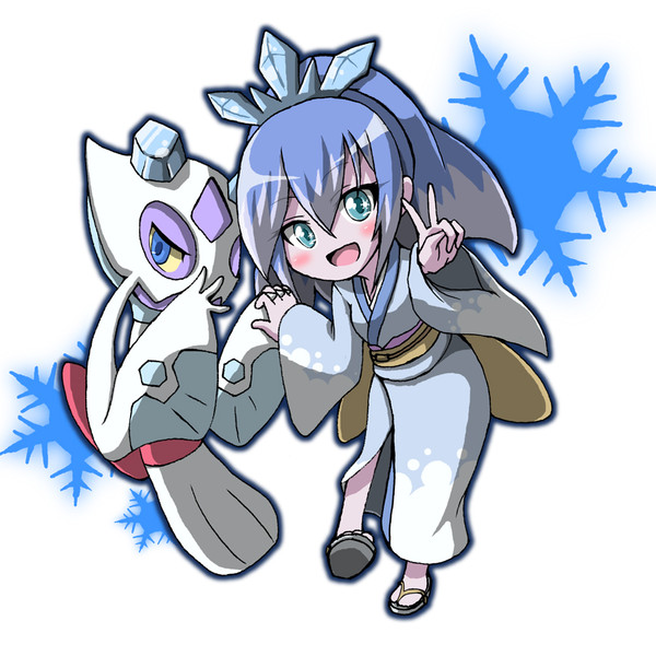 ポケットモンスター ユキメノコ妖怪ウォッチ ふぶき姫 Kiriu さんの
