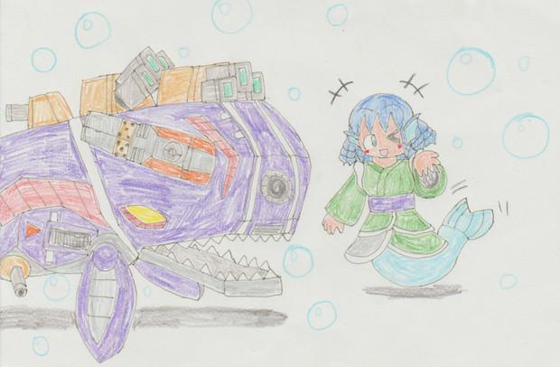 わかさぎ姫のギョギョっと水族館ZONE50