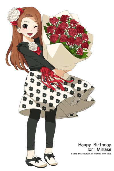 伊織と花束