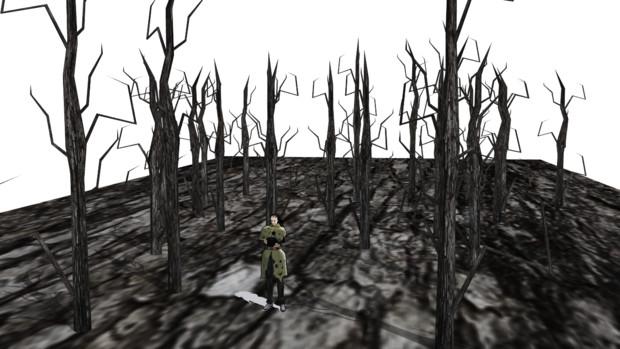 枯れ木の森