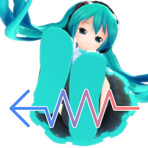 【MMD】プログラムアイコンイメージ ぴくちぃ式ミク