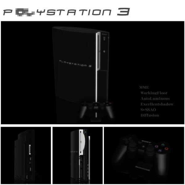 【MMD】P**YSTATION3 ゲーム機