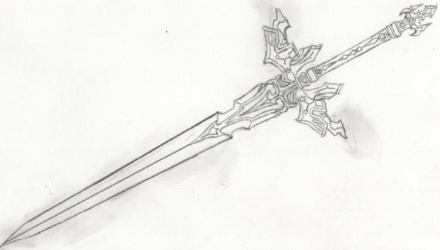 自作中二武器 ファルシオン・ディバイド