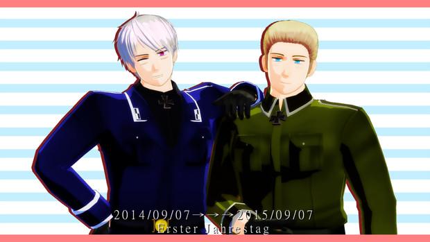 祝・つる式プロイセン配布一周年!!