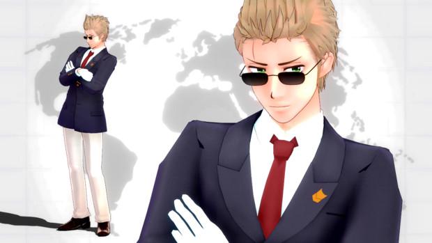 【MMD】roco式蘭 CA衣装 配布