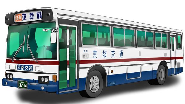 京都交通 K-RU606AA改