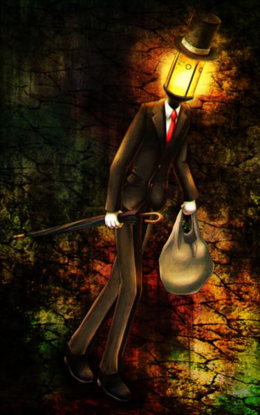 街灯紳士その2