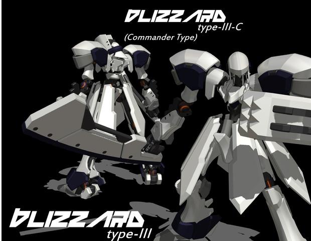 BLIZZARD type-III/type-III-C