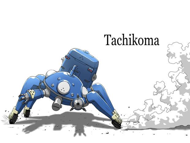 いちいちかわいい攻殻機動隊タチコマ