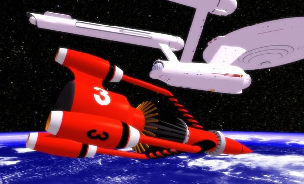 あの宇宙ロケットとあの宇宙調査船