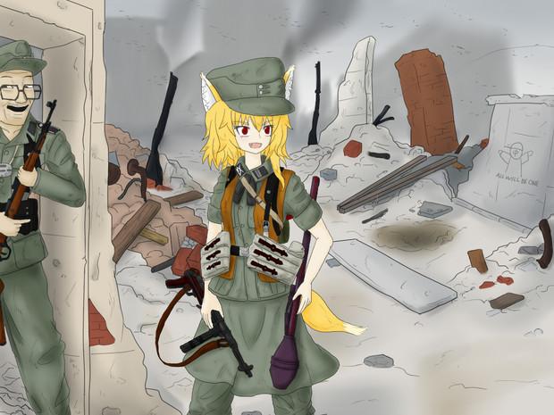 SS武装擲弾兵師団ミラミカルリラン姉貴