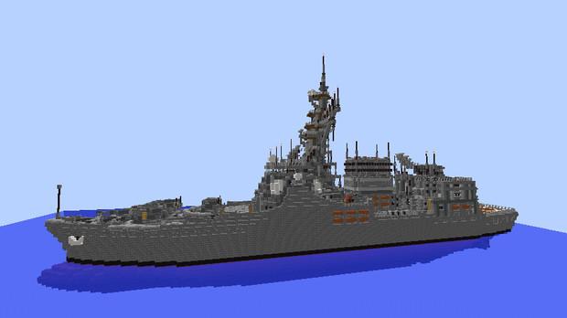 造船初挑戦イージス艦 にょろにょろ さんのイラスト ニコニコ静画