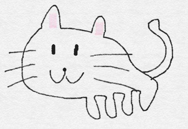 猫(髭あり)