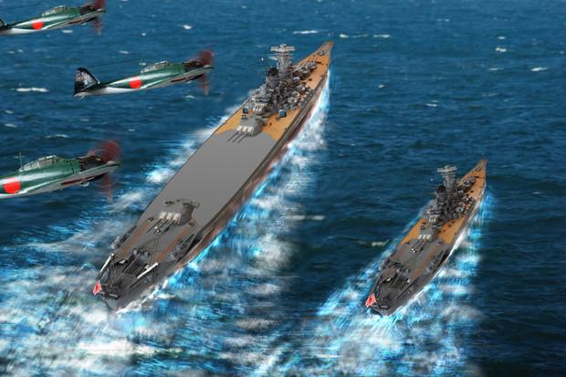 超大型戦艦大和の2.5倍