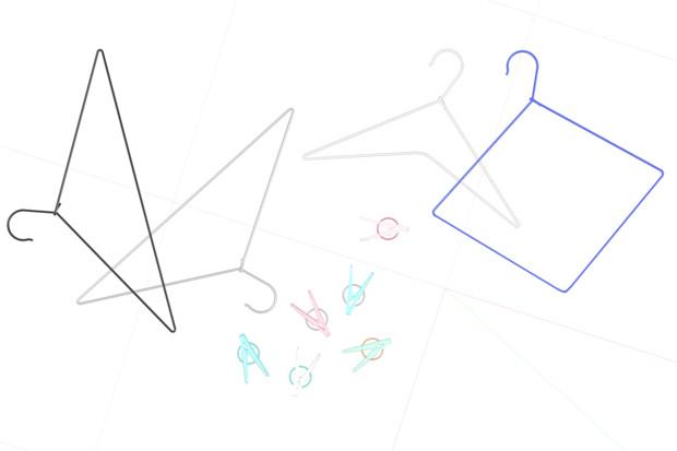 【MMD】洗濯ばさみとハンガーver1_00【モデル配布】