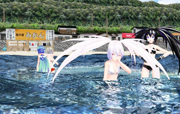 夏の海 事故後2