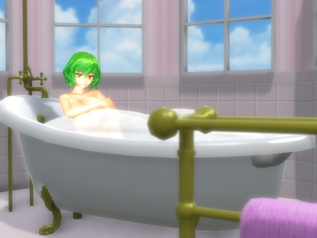 泡のお風呂は