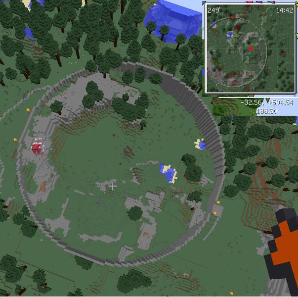【Minecraft】コロシアムを作ってみた【JointBlock】