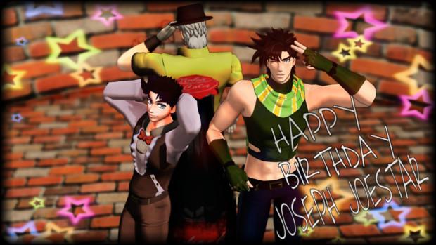 HAPPY BIRTHDAY JOSEPH JOESTAR!!