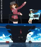 【MMD艦これ】軽空母、龍驤や。独特なシルエットでしょ?