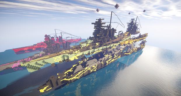 蒼き鋼のアルペジオ 霧の艦隊 キリシマハルナ合体戦艦
